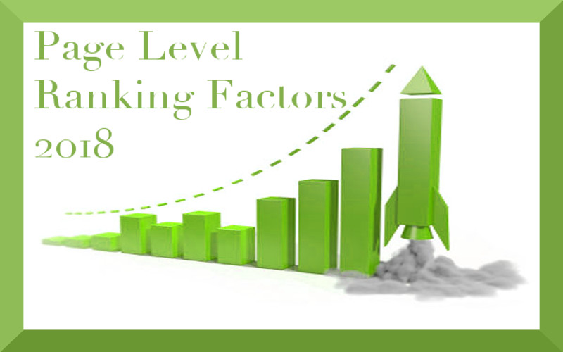 Page Level Ranking Factors