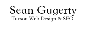 Sean Gugerty Tucson Web Design